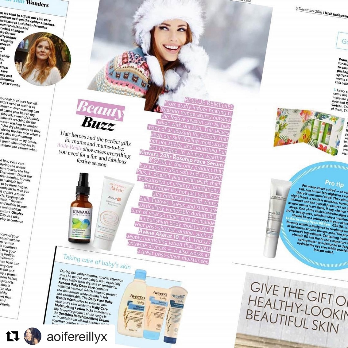 Mask Hair in the Press beauty buzz