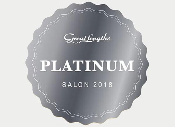 great lengths platinum awards badge