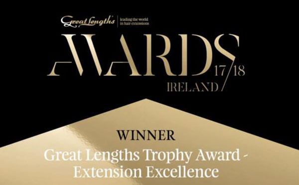 great lengths extension excellence winner awards badge